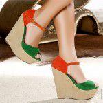 2019 Şık Dolgu Topuk Ayakkabı Modelleri