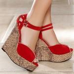 Dolgu Topuk Ayakkabı Modelleri 86