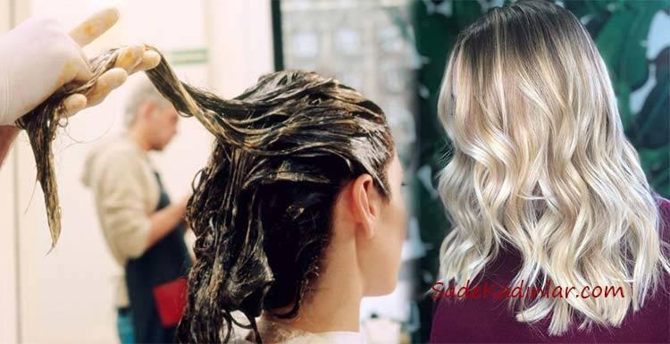 Kimyasal Kullanmadan Saç Rengini Açan Yöntemler