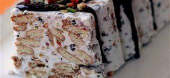 Krem Şantili Mozaik Pasta Tarifi