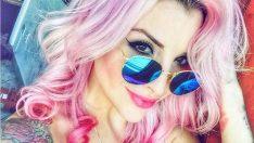 Boyalı (Renkli) Saç Modelleri