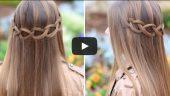 Zincir Düğümlü Saç Örgüsü Nasıl Yapılır? İzle