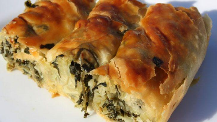 Ispanaklı Börek Tarifi Nasıl Yapılır?