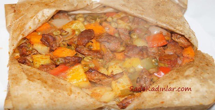 Şık Sunumuyla Fırında Kağıt Kebabı Tarifi