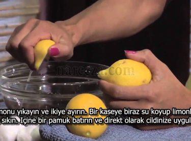 Limon Suyu ile Cilt Bakımı Nasıl Yapılır?