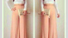 Kadınların Gözdesi Yüksek Bel Pantolon Modelleri; Kombinler