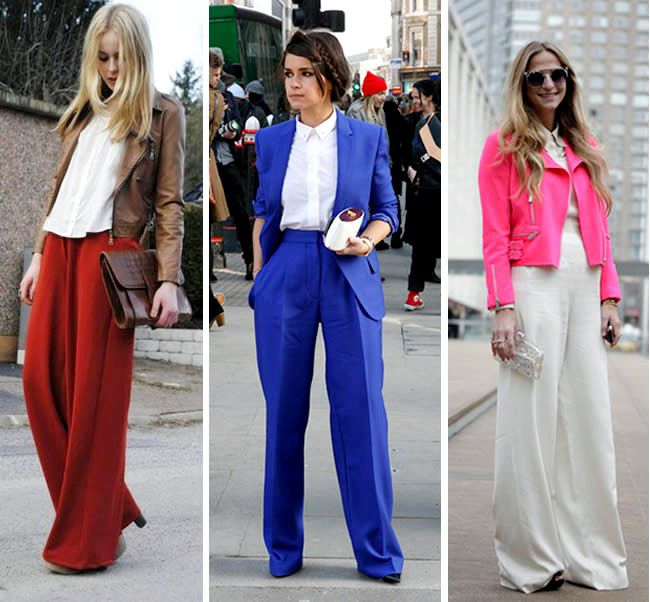 Yüksek bel pantolon modelleri