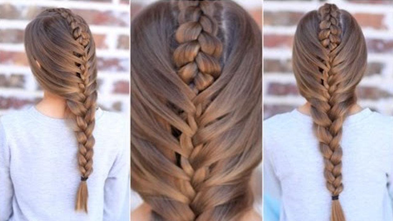 örgü saç modelleri (1)