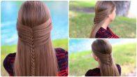 Saç Örgü Modelleri Çok Kolay ve Şık Örgü Saçlar