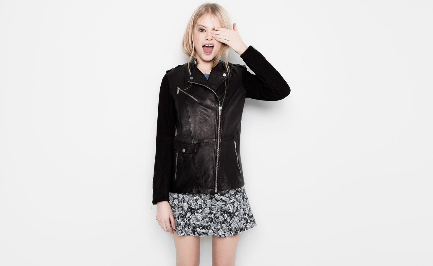 2015 Bayan deri ceket modelleri