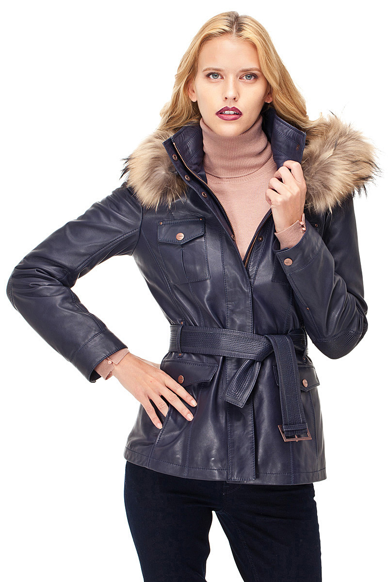 En Güzel 2017 Bayan Deri Ceket Modelleri