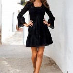 Bayanların Gözdesi Siyah Elbise Modelleri