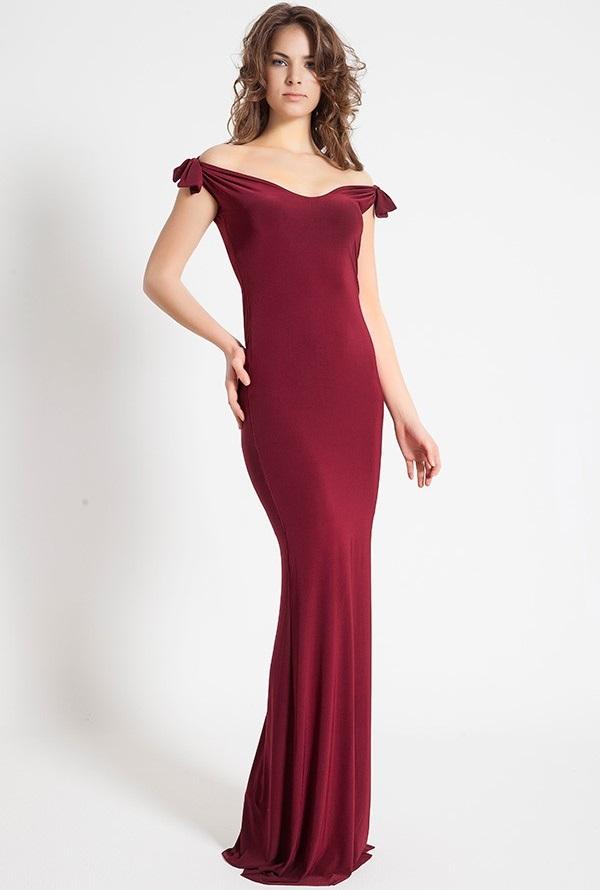 73ce5dc2bb70a Bordo Abiye Elbise Modelleri 2019'un Moda Rengi | SadeKadınlar ...