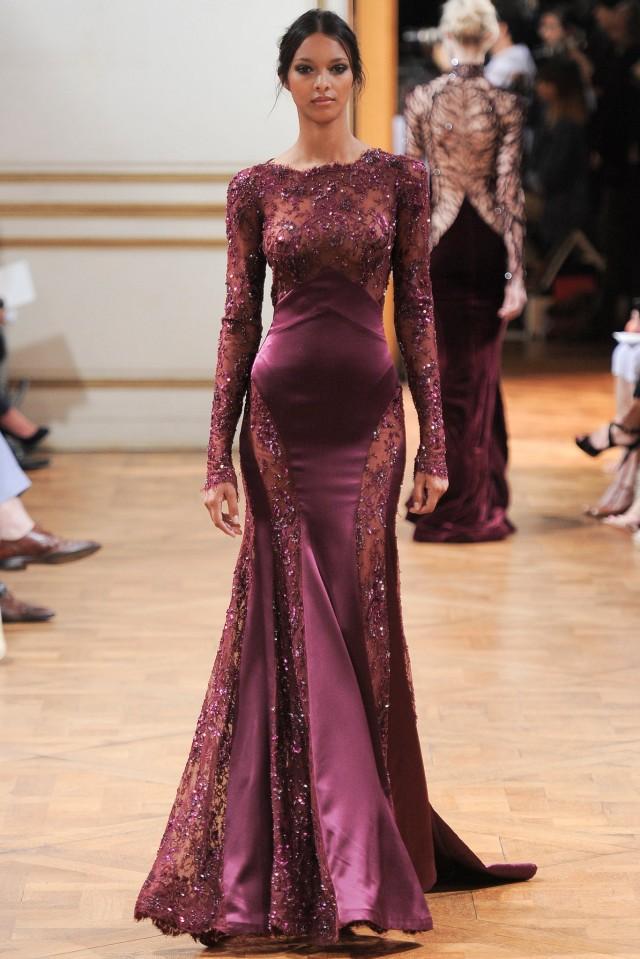 Bordo Abiye Elbise Modelleri 2017