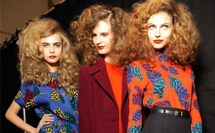 Bu Kışın Saç Trendi: Kabarık Saçlar