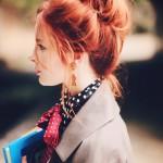 Dağınık Topuz Saç Modelleri Abiyelerin Tamamlayıcısı