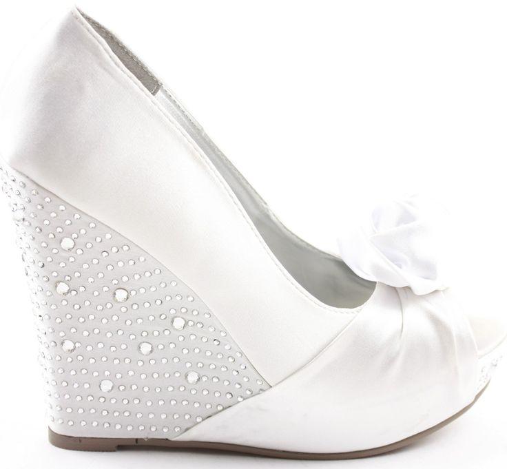 dolgu topuk gelin ayakkabı modelleri (17)