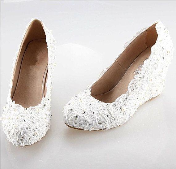 dolgu topuk gelin ayakkabı modelleri (23)