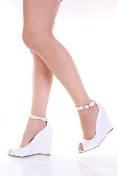 dolgu topuk gelin ayakkabı modelleri (34)