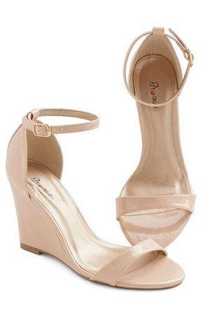 dolgu topuk gelin ayakkabı modelleri (4)