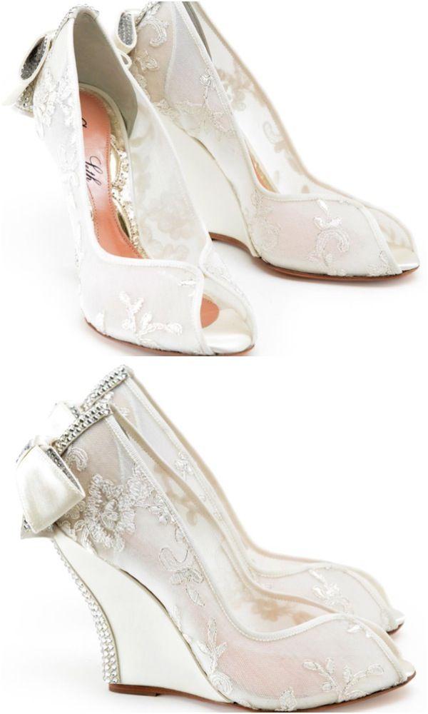 dolgu topuk gelin ayakkabı modelleri (45)