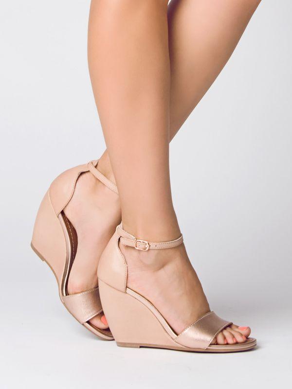 dolgu topuk gelin ayakkabı modelleri (55)