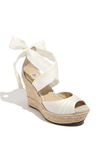 dolgu topuk gelin ayakkabı modelleri (9)