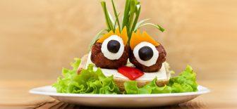 Çocuklar için Eğlenceli Yemek Sunumlar