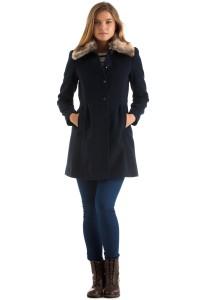 Kış Aylarının Moda Kıyafeti Bayan Mont ve Kaban Modelleri