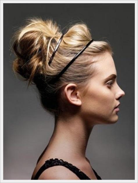 En Trend Topuz Saç Modelleri