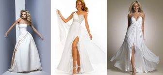 Son Moda Beyaz Abiye Elbise Modelleri Gelinler Bile Sizi Kıskanacak