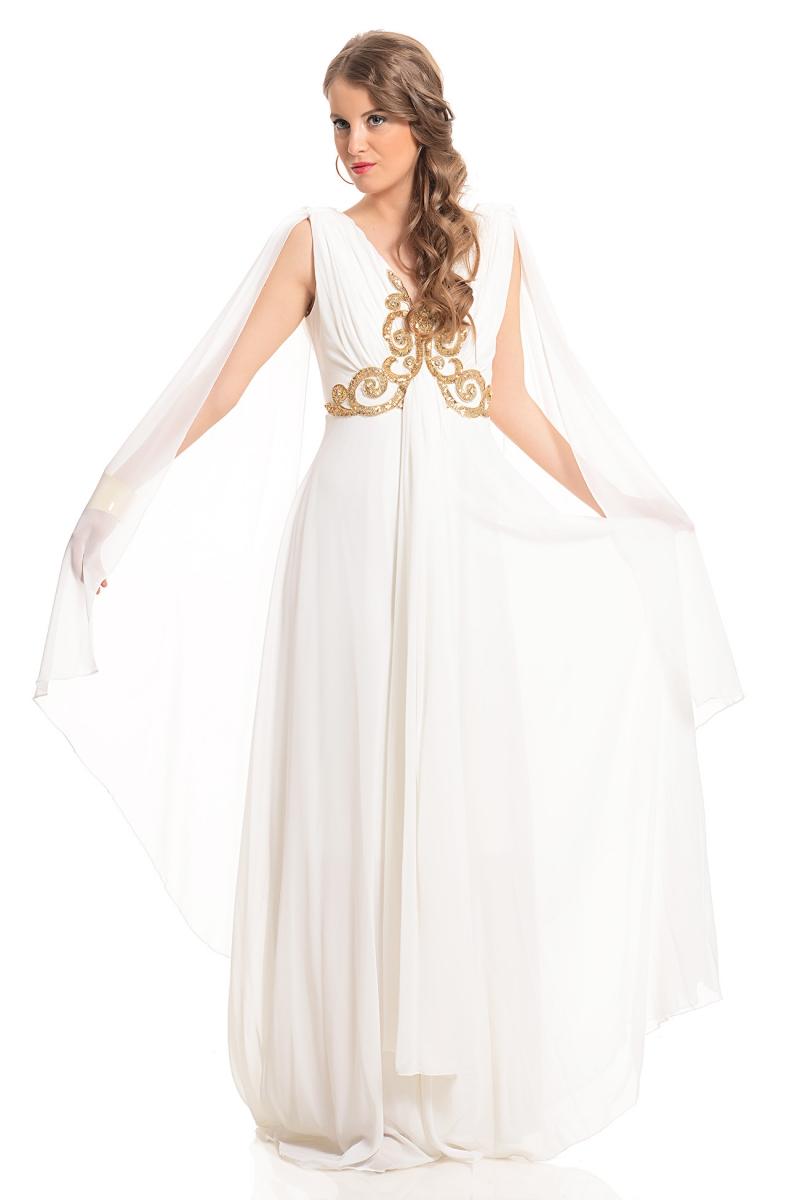 Gelinleri Kıskandıracak Beyaz Abiye Modelleri