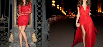 Göz Kamaştırıcı Kırmızı Elbise Modelleri