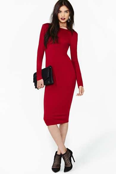 4def123a942f5 Göz Kamaştırıcı Kırmızı Elbise Modelleri | SadeKadınlar - Moda ...
