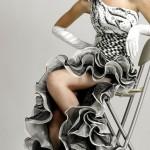 Gri Renk Şık Abiye Modelleri ve Gece Elbiseleri