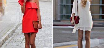 2017 Yaz Modası Sokak Trendleri Şık Yazlık Elbise Modelleri