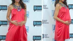 Hamile Kadınlar İçin Şık Abiye Elbise Modelleri