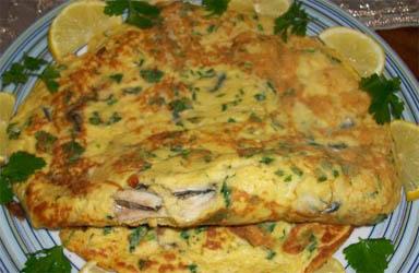 hamsili-omlet