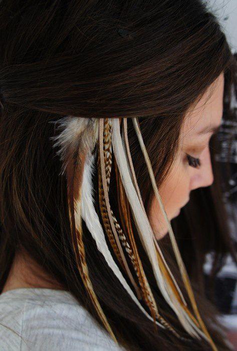 Harika Saçlarda tüy modası