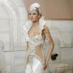 Yaz İçin Prenses Dekolteli Gelinlik Modelleri