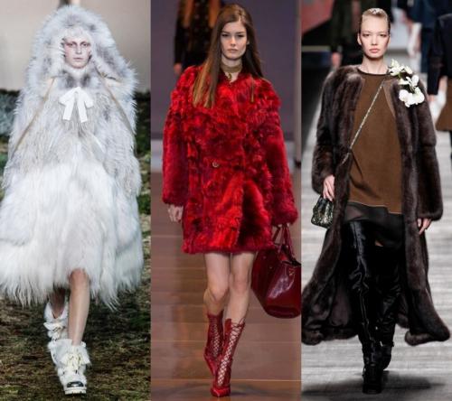 2017 Bayan Modası - kürkler