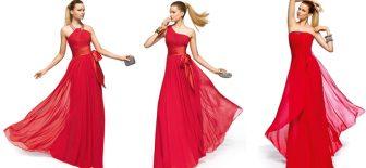 Özel Gecelerin Göz Kamaştırıcı Kırmızı Abiye Elbise Modelleri