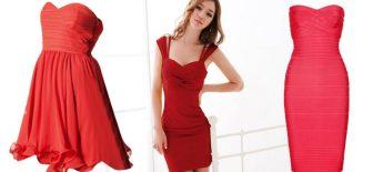 Kırmızı Kısa Abiye Elbise; Özel Günler İçin Gece Elbiseleri