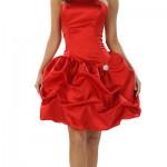 Kırmızı Can Yakar,Kırmızı Kısa Abiye Modelleri