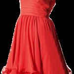 Kırmızı Kısa Abiye Elbise Modelleri