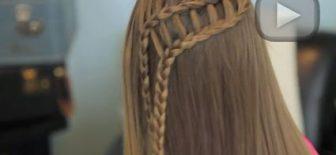 Merdiven Örgü Saç Modeli Nasıl Yapılır?
