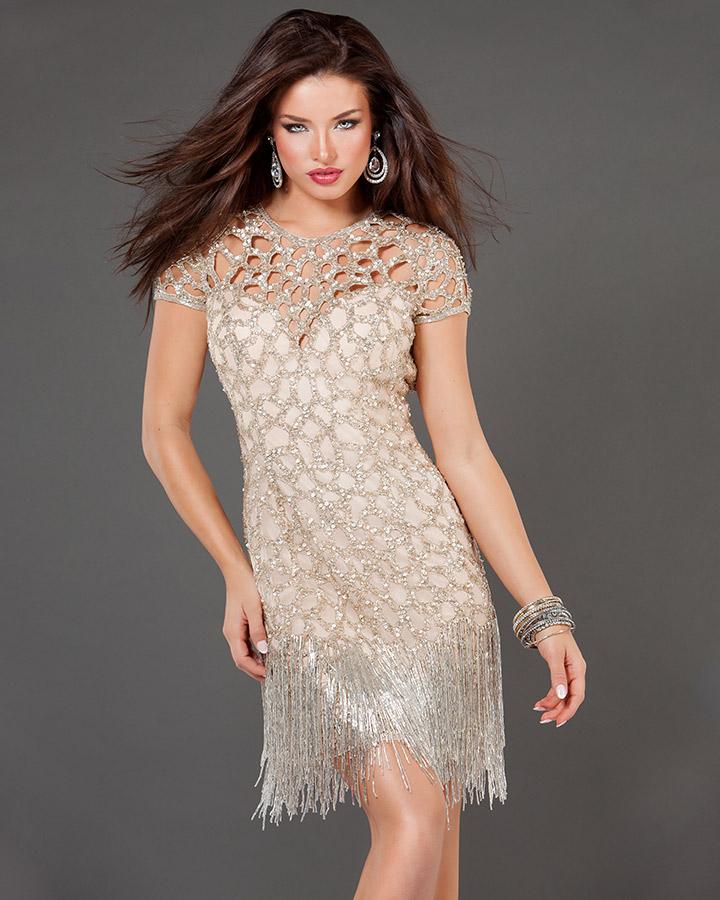 2019 Abiye Modelleri Kısa Şık Gece Elbiseleri