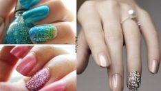 Mükemmel Oje Desenleri Oje Modelleri French Nail Art'lar