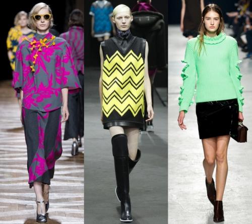 2017 Bayan Modası - neon renler