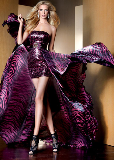 Ön Kısa Arka Uzun Abiye Elbise Modelleri